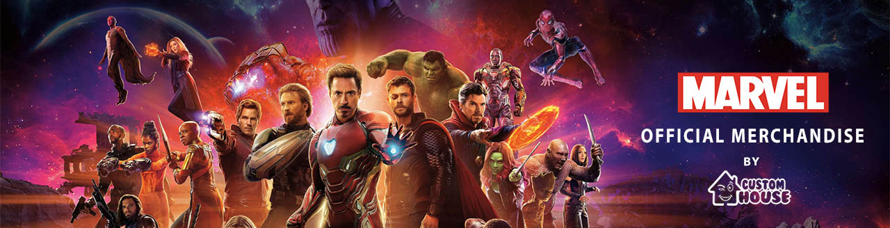Marvel Official Merchandise Banner by customhouse.pk
